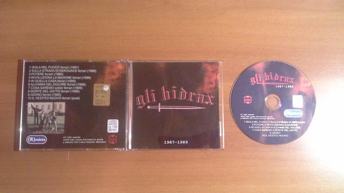 gli hidrax 1987-1989 - etichetta (R)ESISTO