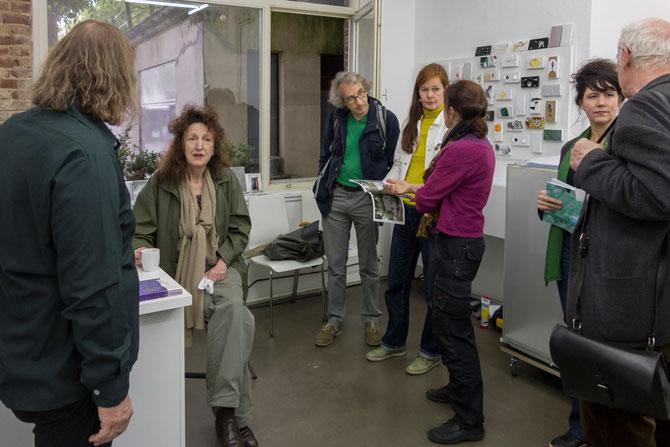 Besuch beim Klever Kunstverein projektraum-bahnhof25.de