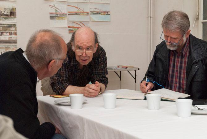 Andreas Koerner im Gespräch mit Andreas Weiland