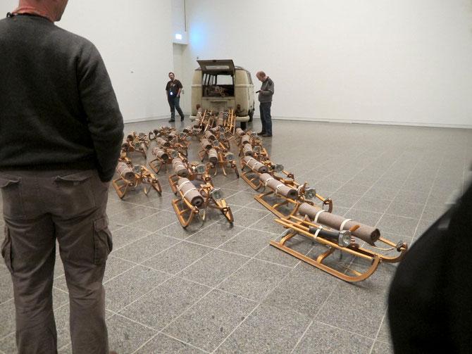 Joseph Beuys, das Rudel, 1969