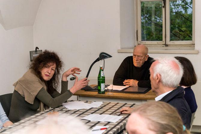 Doris Schöttler-Boll und Urs Jaeggi im Mai 2014