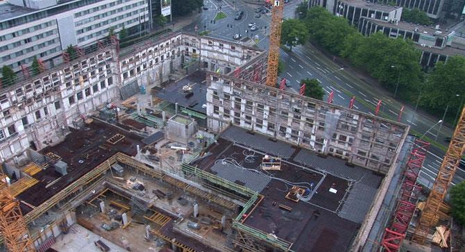 Glückaufhaus aus 50m Höhe, Juli 2008  (zum Vergrößern anklicken)