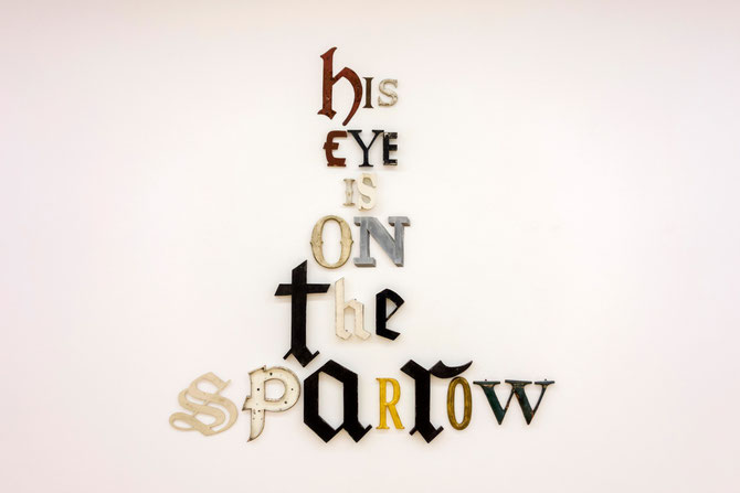 Jack Pierson, His Eye Is On The Sparrow, 2014