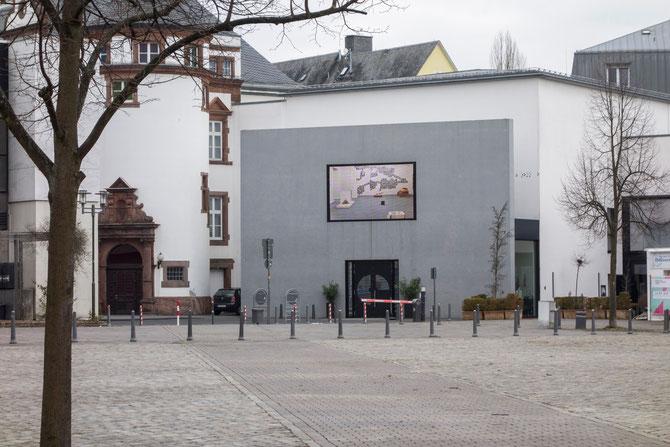 Haupteingang Museum für Gegenwartskunst, Siegen