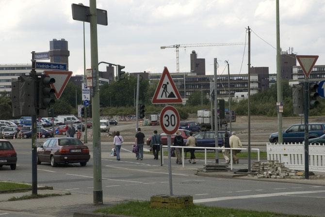 Berliner Platz, August 2007