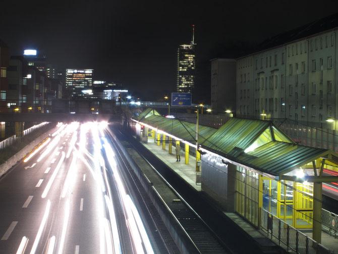A40 - durchneidet die Stadt