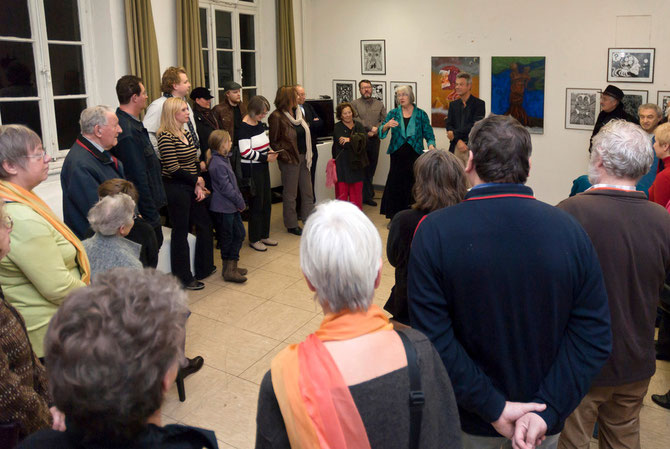 Einführung durch Edelgard Stryzewski-Dullien und Johannes Brackmann 13.11.2010