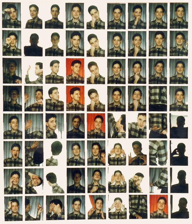 Photomaton 3, Martin, 1986