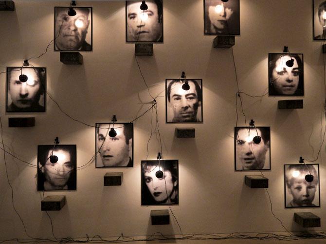 In der Dauerausstellung: Christian Boltanski, El Caso (1988)