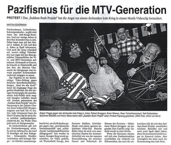 NRZ-Artikel 11.Januar 2003