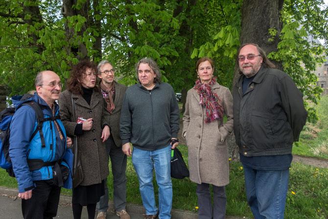 Ganz links: Dr. Wilfried Korngiebel, rechts daneben Doris Schöttler-Boll