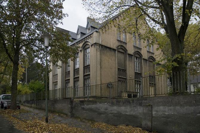 Atelierhaus Alte Schule - Ansicht vom Äbtissinsteig