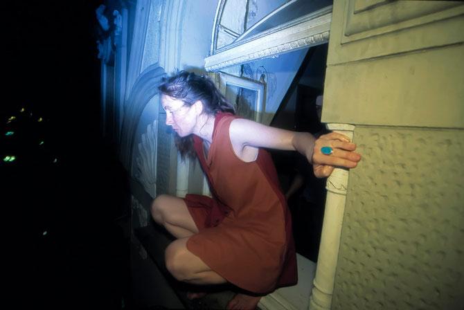 Nach einer Party 1996 (Foto bearbeitet)