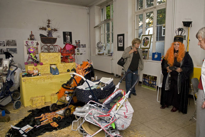 Wanja Richter-Koppitz im Atelierhaus