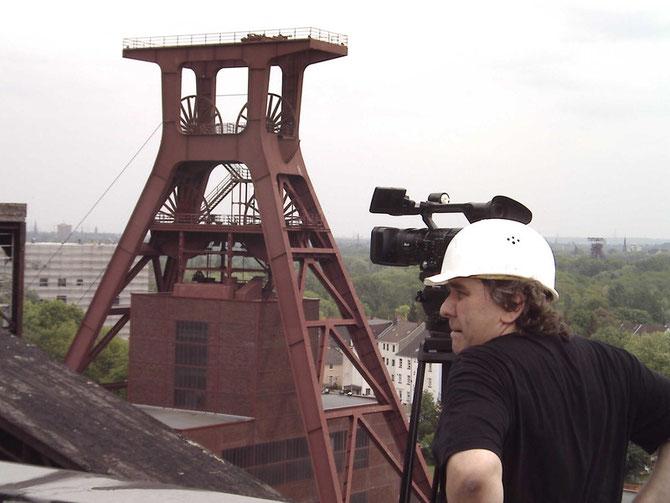 Auf dem Dach der Kohlenwäsche /  Foto: Jürgen Bartsch, 2005