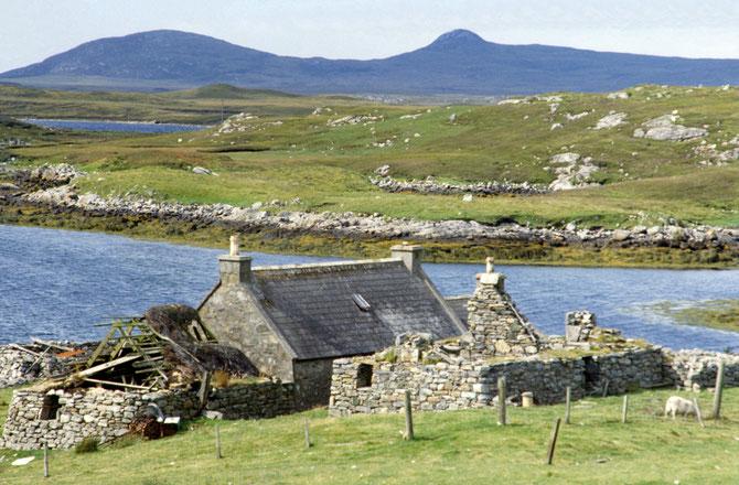 Das leerstehende Haus, bereits 1979 von uns entdeckt...