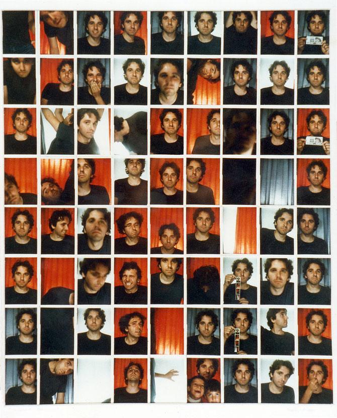 Photomaton 1, Selbstportrait, 1986