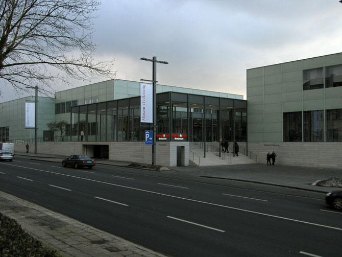 Haupteingang Museum Folkwang, Februar 2010