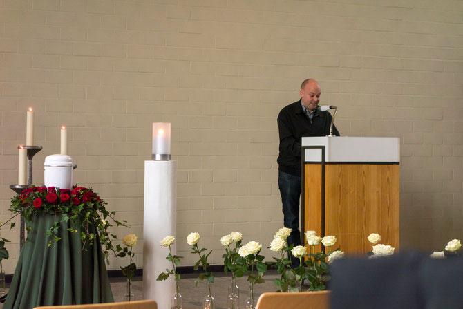 Florian Neuner, Traurrede für Doris Schöttler-Boll