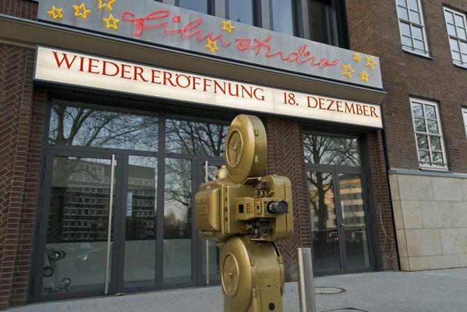 Filmstudio kurz vor der Eröffnung, Dezember 2009