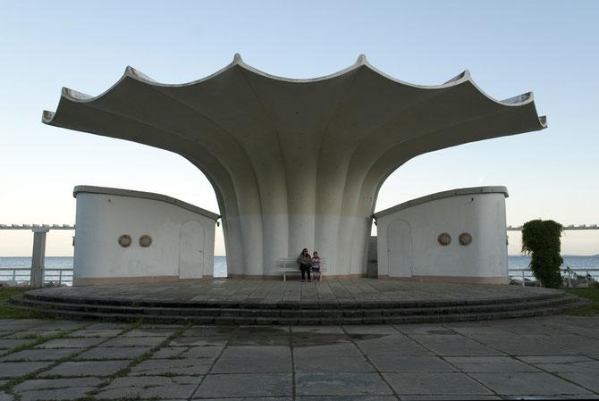 Konzertmuschel in Sassnitz auf Rügen