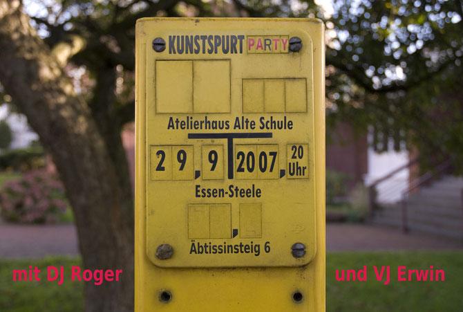 "Ankündigung ""KunstSPURT"" 2007"