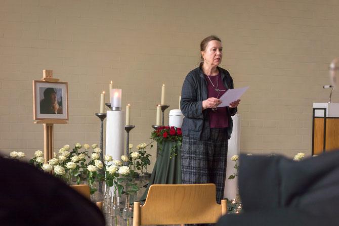 Angelika Janz GeistesGegenwart für Doris, 9.3.2015