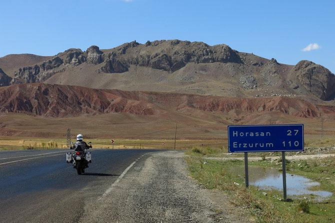 Einfach schön - die Route bis Erzurum