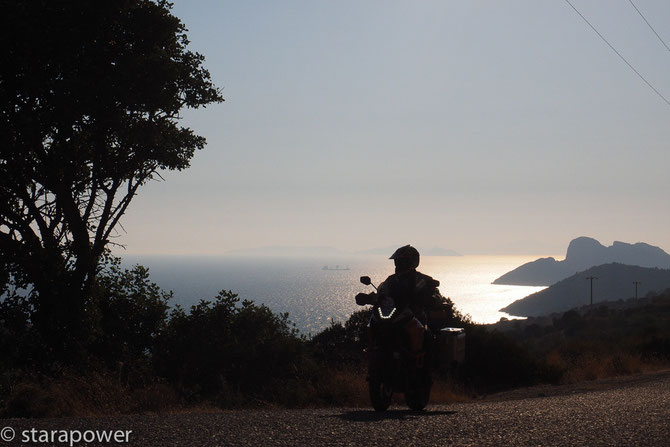 Sundown am äußersten Westzipfel der Resadiye-Halbinsel
