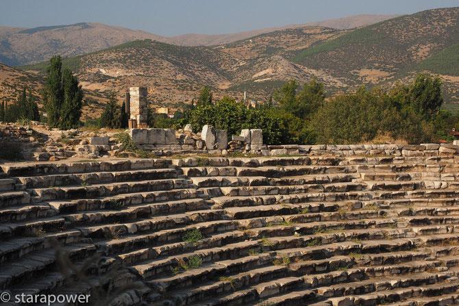 Weit geht der Blick... - Theater von Aphrodisias