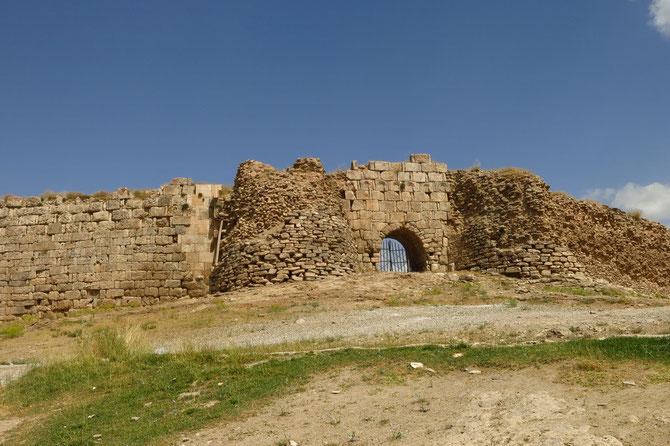 Hinter der Wehrmauer waren Feuertempel und Paläste