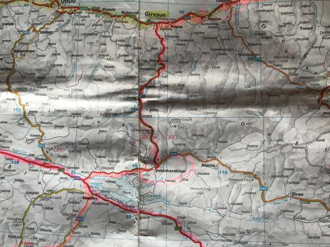 Durchs Pontische Gebirge nach Şebinkarahisar