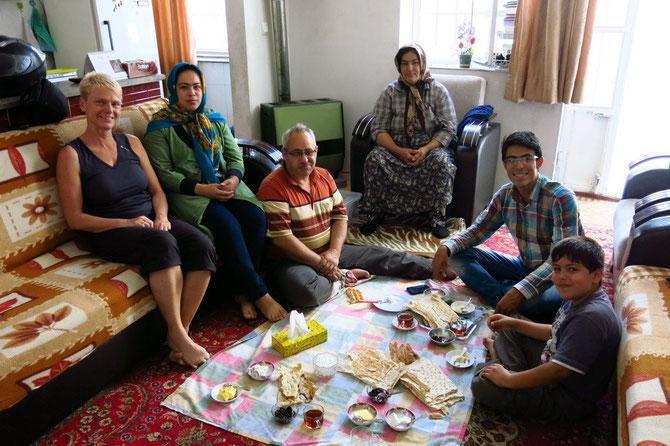 Familie Sheykhlou in Urmia