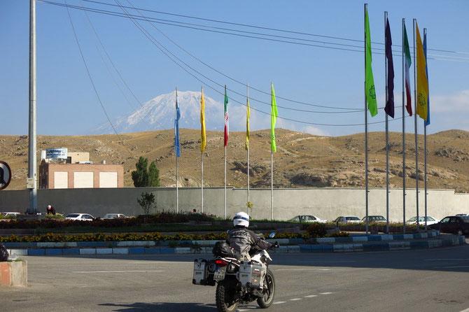 Bewacht die Grenze Iran-Türkei: der Ararat