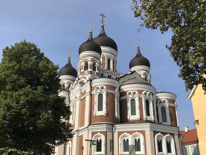 Tallinn: Alexander-Newski-Kathedrale