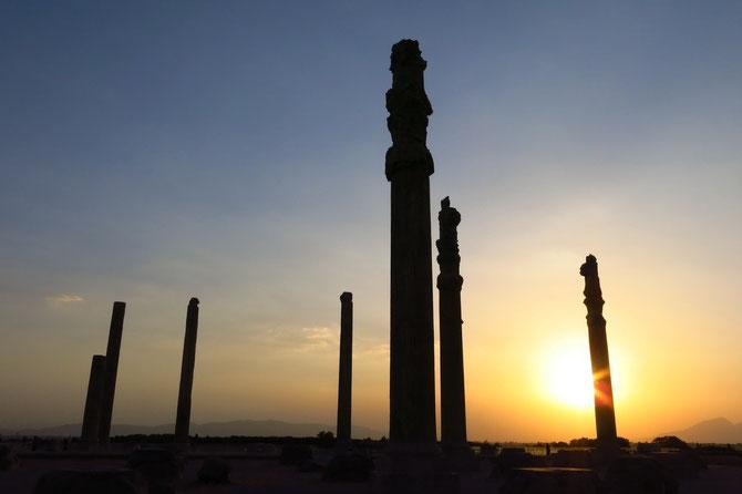 In Persepolis die Sonne untergehen lassen...