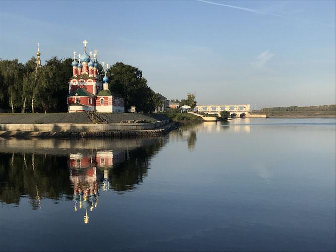 Uglich: Tserkov' Tsarevicha Dimitriya Na Krovi - die Demetrios-Kirche oder Blutskirche aus dem Jahre 1692