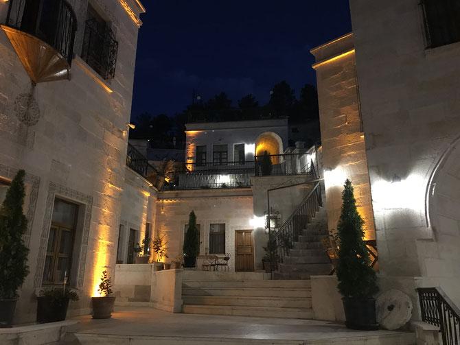 "Stimmungsvolles ""Magic Cave Hotel"" in Mustafapaşa"