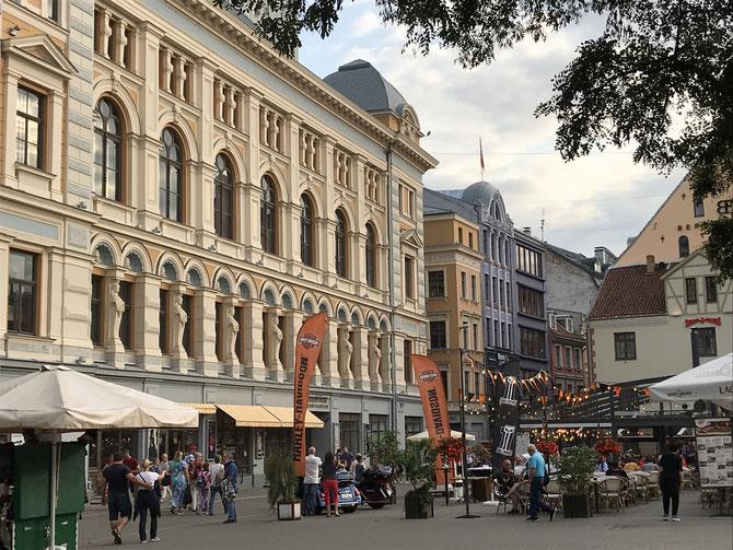 Riga ist eine Stadt voller Leben