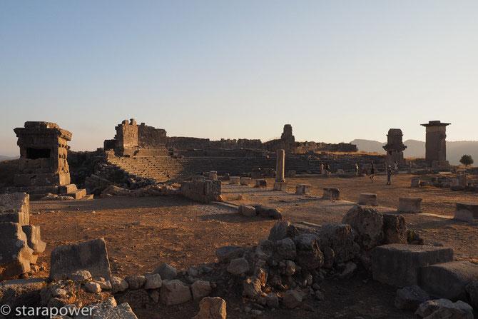 Xanthos - mehr als Geschichte... - Blick auf das römische Theater