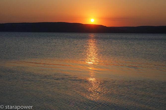 Sundown bei Çanakkale/Dardanellen