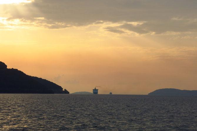 """Sie kommt - die """"Hellenic Spirit"""" nach Ancona"""
