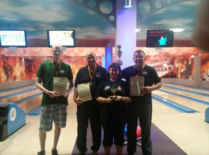 14.07.13 Siegerehrung Fun Bowling-Cup