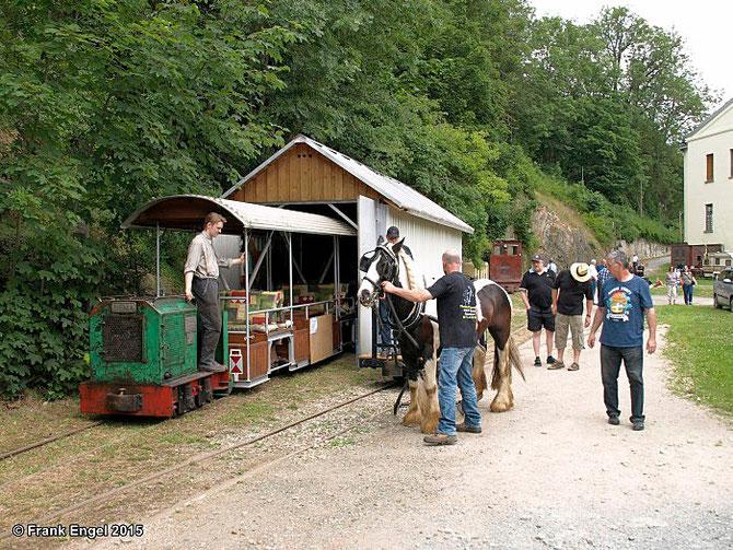 7'15: Pferdebahnbetrieb zum Jubiläum