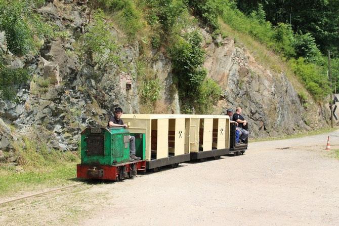 """7'15 Gastfahrzeuge zum Jubiläum """"120 Jahre Feldbahn Blankenberg"""""""