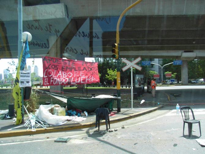 Buenos Aires, unter den Brücken