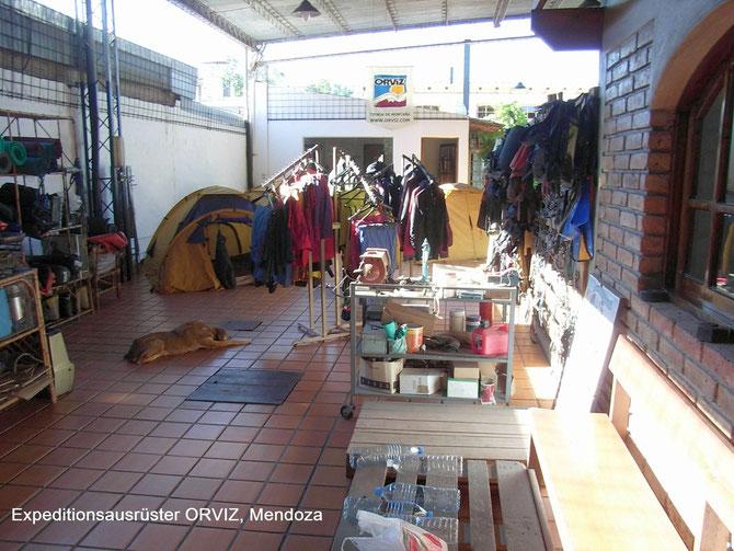 Ausrüster in Mendoza