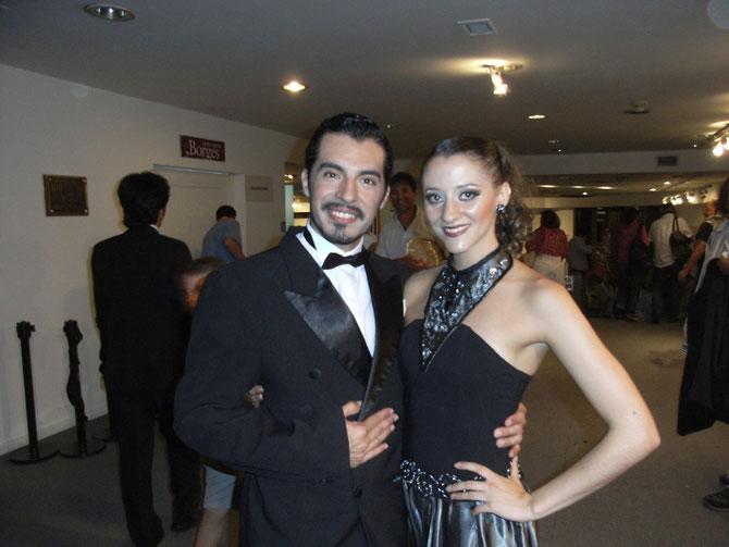 Buenos Aires, Tangokünstler am Abend
