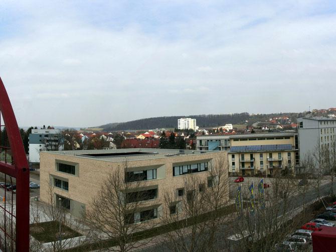 Hochschule, Hörsaalgebäude, Ansbach am 02.04.2013 um 10:40 Uhr