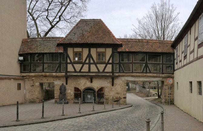 Stadtmauer am Markgrafenmuseum